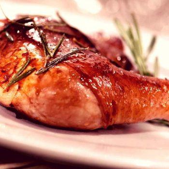 receta de pollo al romero