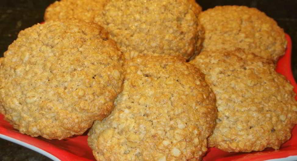 preparacion galletas de avena
