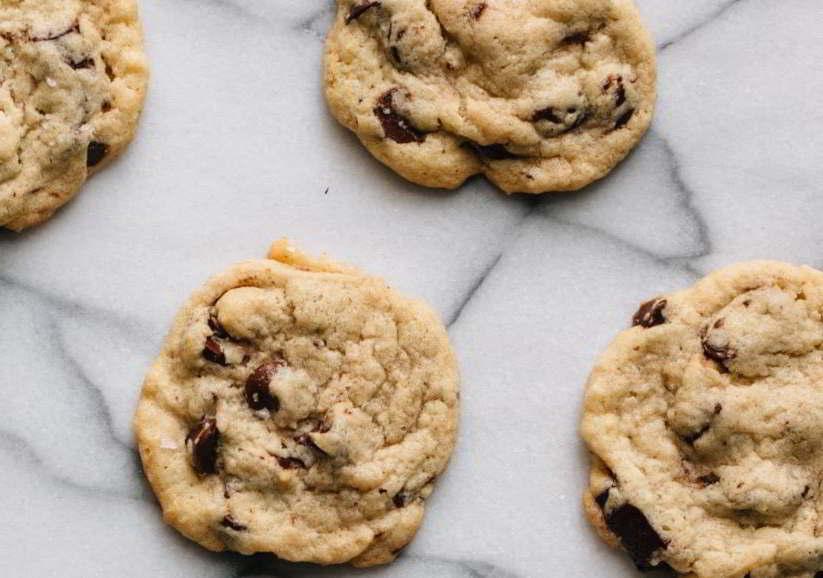 receta facil de galletas de chocolate sin hornear